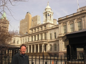 Dad at City Hall