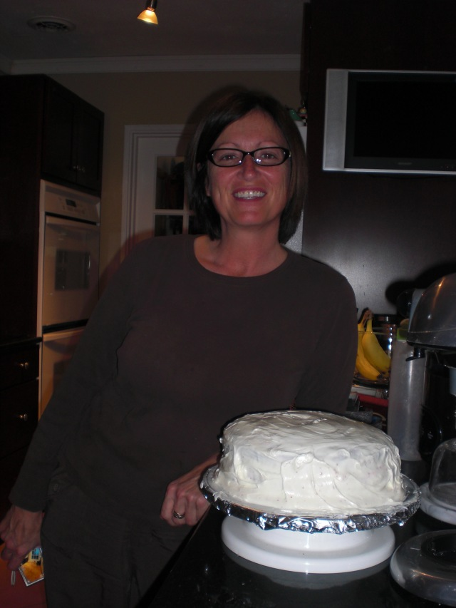 Mom and the Cake