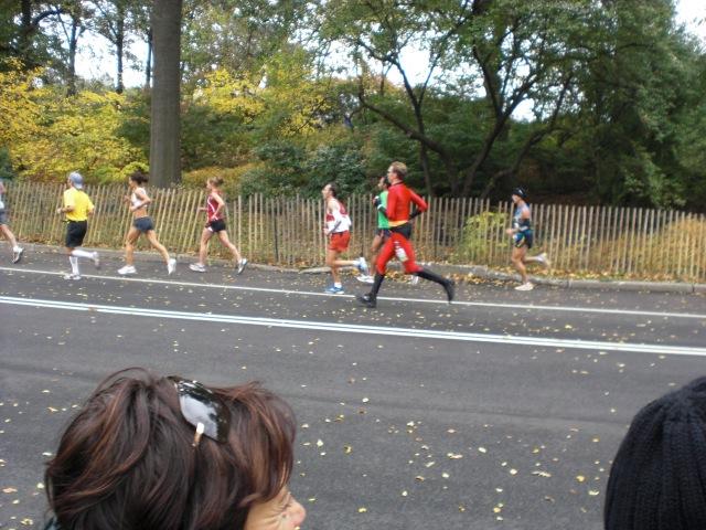 Mr. Incredible Running the NYC Marathon