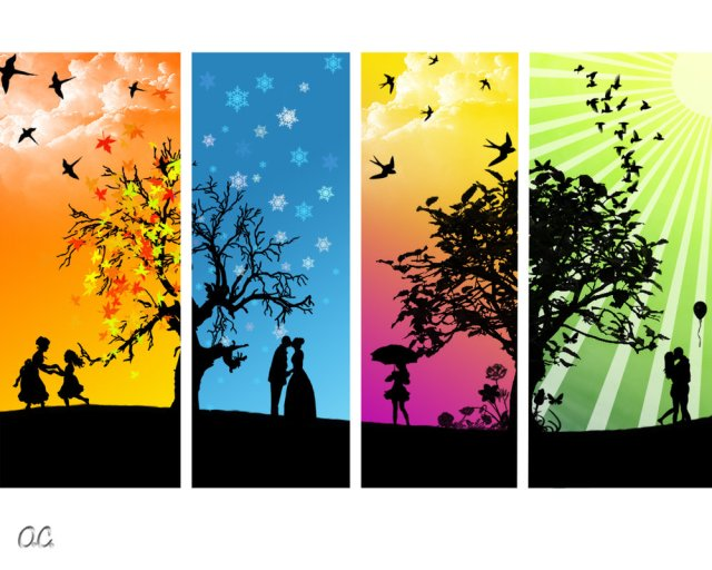 Created by: http://onutzac.deviantart.com/art/The-Four-Seasons-My-style-83574292